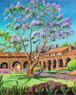 Jacaranda (Acrylic on Canvas, 2014)