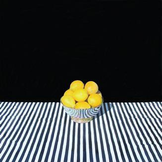 Bowl of Lemons, (Oil, 2014)