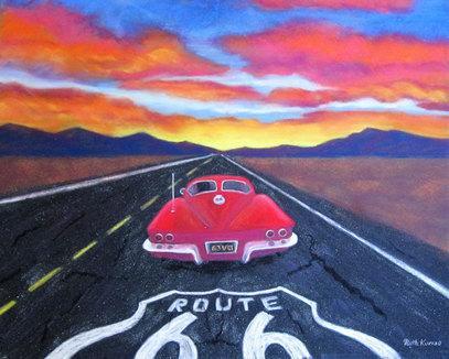 Motoring West