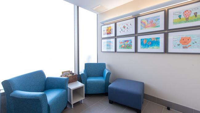 Nursing Mother's Lounge Interior