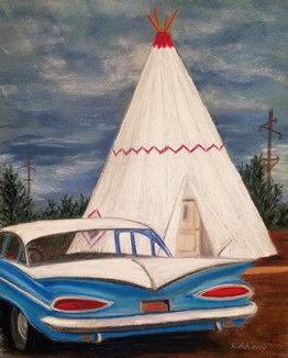 Stayed in a Wigwam Lately