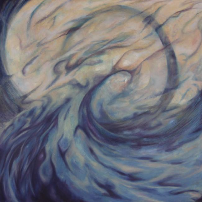 WORRY STONE_Rebecca Bray_Oil Painting_2011