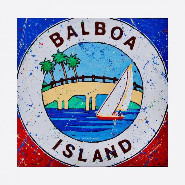 Balboa Island - Acrylic Paint - 2016