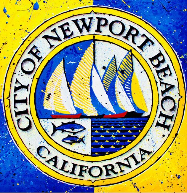 Newport Beach - Acrylic Paint - 2017
